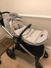 Occarro Pushchair in Grey from Mamas and Papas