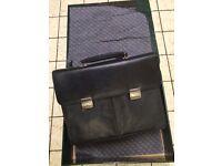 New Joseph Verity leather briefcase