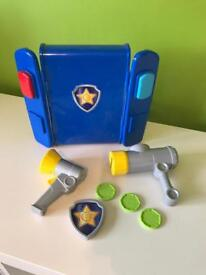 Paw patrol Chase's pup pack