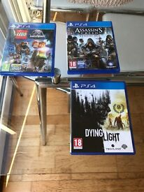 PS4 Games for sale £ 10 each
