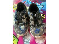 Girls Adidas trainers size 4 fab condition worn a good few times by my twins girls x