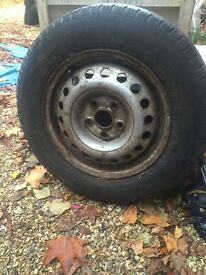 VW TRANSPORTER T4 WHEELS