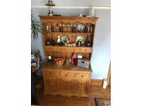 Solid wood (pine) kitchen cupboard