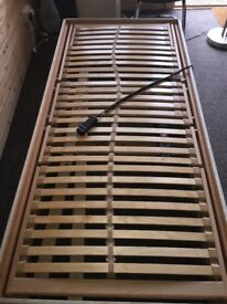 Electric Reclining Single Bed Frame
