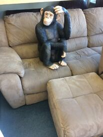 Chimpanzee statue free local delivery