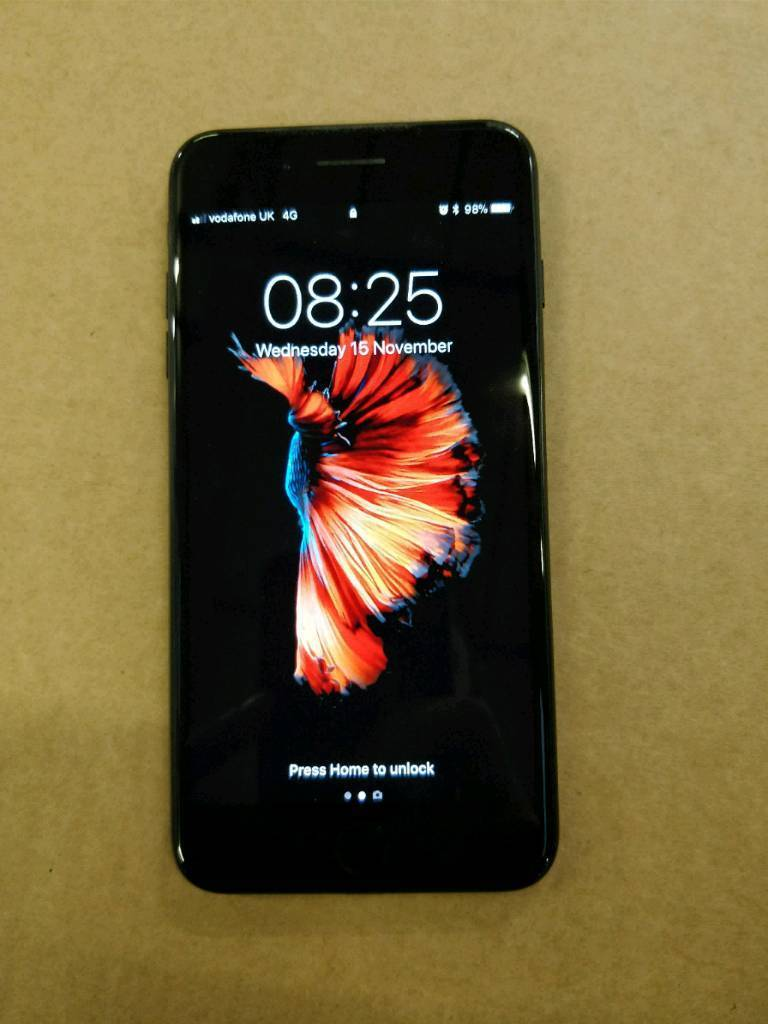 IPHONE 7 PLUS 256GB JET BLACK UNLOCKED