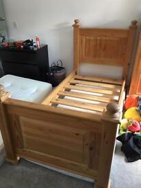 Single Pine Bed Frame Only