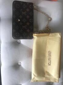 Louis Vuitton small handbag with wallet