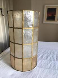 Capiz Shell Lampshade from John Lewis