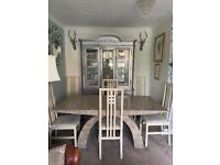 Dining Table 6 Chairs Matching Console Table