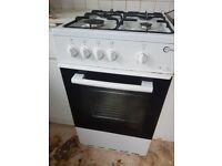 Flavel FSBG51W White Gas Cooker