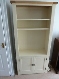 DUNELM HENLEY CREAM BOOKCASE