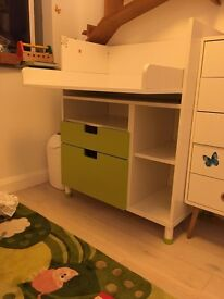 IKEA Stuva changing table with two drawers