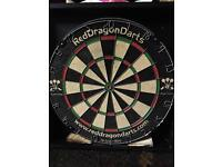 Dartboard with cabinet for sale