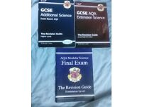 3 GCSE AQA Science books