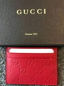 Mens Gucci Cardholders - Red/Brown £140 ONO*RRP £175*