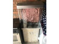 Fish tank and cabinet. Free Delivery!