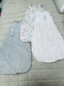 Baby girls 12-18 Months Clothes/Sleep Bags