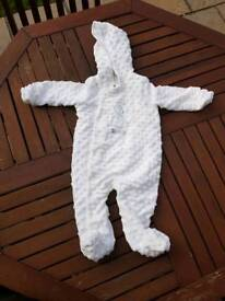Baby cosy/snowsuit size 3 - 6 months