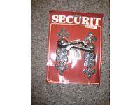 Securit ant fancy latch handle