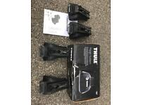 Thule 757 Rapid Railing Wing Bar Roof Mount Brackets
