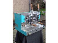Vintage Gaggia 2 group lever espresso Gas Spares/Repair/Restoration not faema e61 marzocco astoria