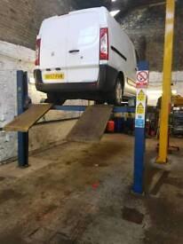 4 post vehicle lift 4 tonn van car