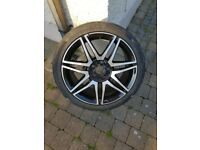 18 inch Mercedes alloy