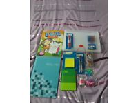 Selection of stationary items -all new
