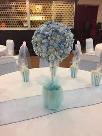 Baby shower new baby centrepiece party