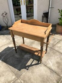 Genuine Victorian Wash Stand. Antique