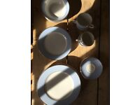 Never used Dolton 4 piece dining and tea set
