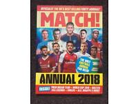 MATCH Football annual 2018
