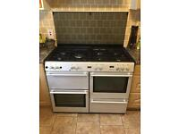 Stoves range cooker 1100mm silver FREE