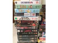 Lot 42 vhs videos (horror, sci-fi, British new wave, action)