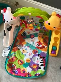 Baby play set fisher price 0-1yold