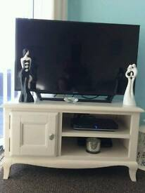 Cream tv unit from Dunelm