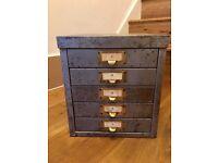 Vintage Retro Filing Cabinet