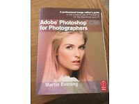 MINT condition - Adobe Photoshop CS6 for Photographers