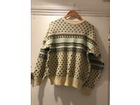 Gorgeous vintage Christmas jumper