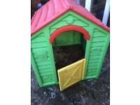 Plastic Outdoor PlayHouse FREE TO COLLECT