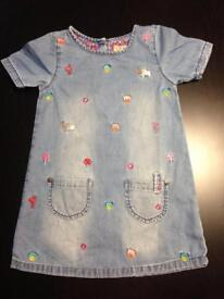 Denim dress and jeans age age 2-3