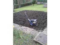 For sale: Garden tiller/rotovator (petrol)