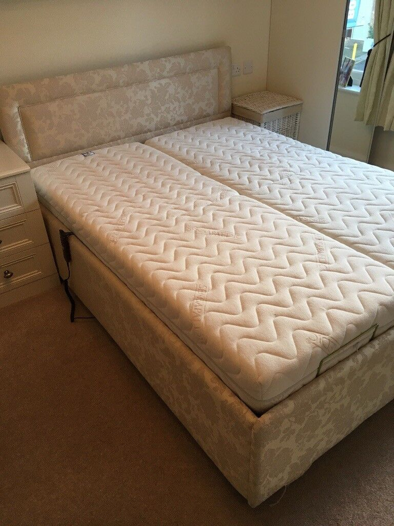 Fully Adjule Willowbrook King Size Bed 2 Separate 75cm Mattresses With Independent Controls In Morpeth Northumberland Gumtree