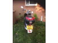 Tammeriti 125 retro scooter