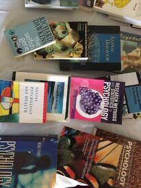 Bundle of Psychology books for University