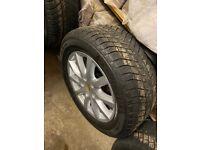 Winter tyres and wheels Porsche Cayenne