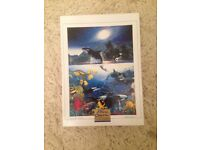 1000 jigsaw puzzle Blue Ocean by Nathan, made up once. Complete as new.