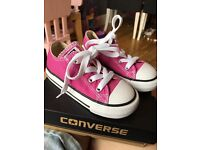 Pink Converse trainers Brand New in box