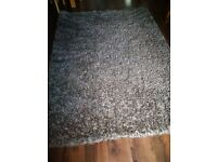 Brown Beige Mixed Extra Large 5cm Soft Thick Plain Shaggy Rugs
